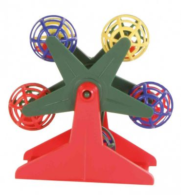 Trixie Ferris Wheel with Little Rattling Balls - 10 Cm