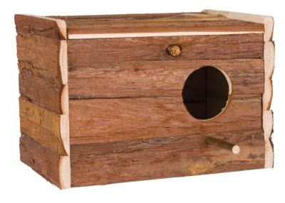 Trixie Natural Living Nesting Box with Landing Perch