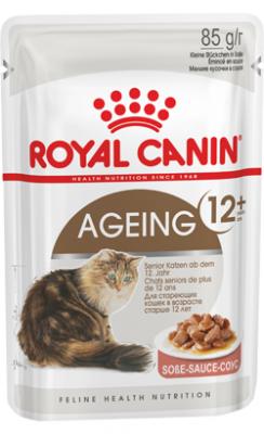 Royal Canin Ageing +12 in Gravy | Wet (Saqueta) 12 X 85 g
