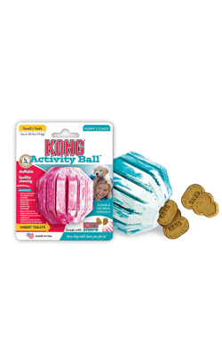 Kong Activity Ball Puppy | Cores Sortidas Small
