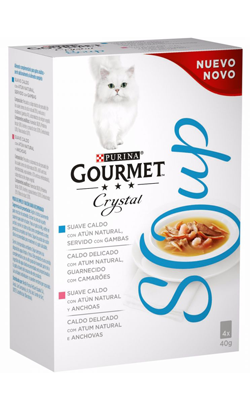 Gourmet Crystal Soup Fish Multipack 1 X 4 x 40 g