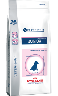 Royal Canin Vet Care Nutrition Neutered Junior 10 Kg