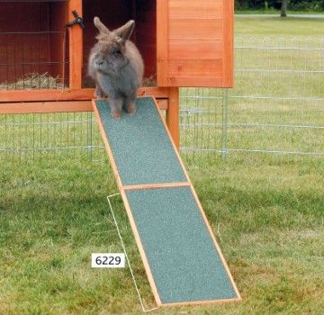 Trixie Wooden Ramp For Rodents Cage
