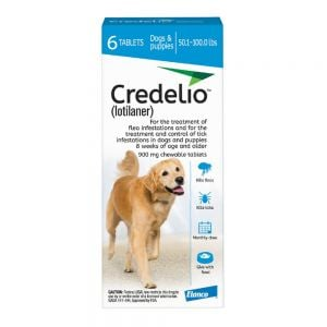 Credelio 900mg for Dogs 22-45kg