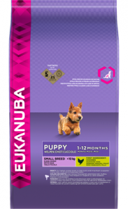 Eukanuba Puppy Small Breed | Chicken 3 Kg