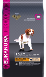 Eukanuba Adult Small & Medium Breed | Lamb & Rice 2,5 Kg