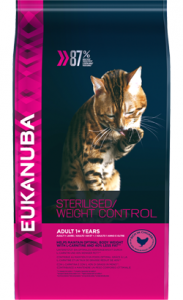 Eukanuba Cat Adult Sterilised Weight Control | Chicken 1,5 Kg