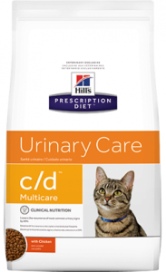 Hills Prescription Diet c/d Multicare Feline Chicken 1,5 kg
