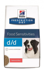 Hills Prescription Diet d/d Canine Salmon & Rice 2 kg