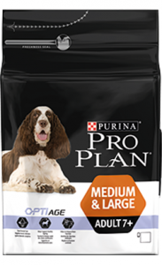 Pro Plan Dog Medium & Large Adult 7+ 3 Kg