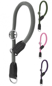 Nayeco Envy Roll Strangler Collar | 12 mm x 60 cm Rosa