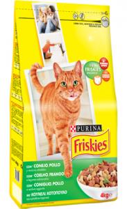 Friskies Gato Adulto | Coelho, Frango e Legumes 20 kg
