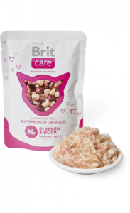 Brit Care Cat Wet | Chicken & Duck (Saqueta) 80 g