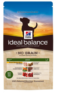 Hills Ideal Balance Canine Adult No Grain with Chicken & Potato 2 kg