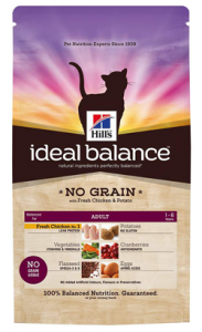 Hills Ideal Balance Feline Adult No Grain with Chicken & Potato 2 kg