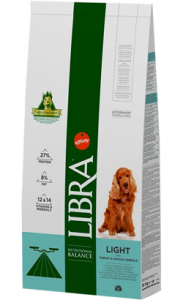 Libra Cão Adulto Light 12 kg