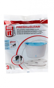 Dogit Design Fresh & Clear | Filtro 1 Unidade