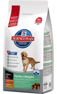 Hills Science Plan Canine Adult Perfect Weight Large Breed 12 kg