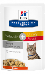 Hills Prescription Diet Metabolic + Urinary & Stress | Wet (Saqueta) 12 X 85 g