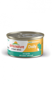Almo Nature Cat Daily Mousse with Lamb | Wet (Lata) 6 X 85 g