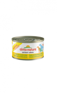 Almo Nature Dog Classic Home Made Chicken with Carrots and Rice | Wet (Lata) 6 X 95 g