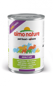 Almo Nature Cat DailyMenu with Turkey | Wet (Lata) 6 X 400 g