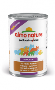 Almo Nature Cat DailyMenu with Veal | Wet (Lata) 6 X 400 g