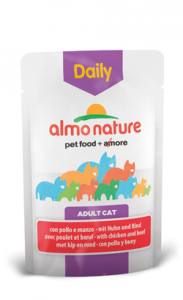 Almo Nature Cat DailyMenu with Chicken and Beef | Wet (Saqueta) 6 X 70 g