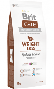 Brit Care Dog Weight Loss Adult All Breeds | Rabbit & Rice 12 kg