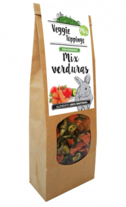 Cominter Veggie Toppings Mix de Verduras 125 g