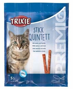 Trixie Premio Stick Quintett With Salmon And Trout