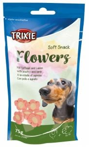 Trixie Flowers Snacks with Lamb and Chicken 75 Gr
