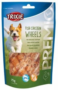 Trixie Premio Fish Chicken Wheels 75 gr
