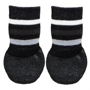 Trixie Dog Socks Anti-Slip - L (Black)