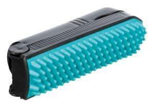Trixie Silicone Lint Roller - 23 cm (Black/Turquoise)