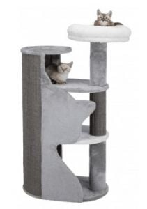 "Trixie ""Abele"" Scratching post (Gray / White / Gray) - 120 cm"