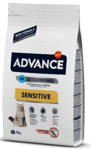 Advance Cat Adult Sensitive | Salmon & Rice 1,5 Kg
