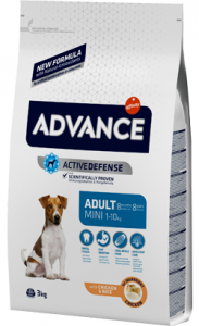 Advance Dog Mini Adult | Chicken & Rice 3 Kg