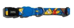 Zee.Dog Collar Bart Simpson