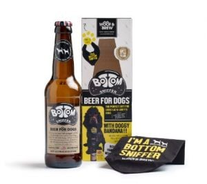 Woof & Brew Bottom Sniffer Luxury Pack With Bandana