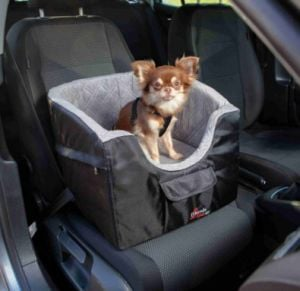 Trixie Car Seat for Dogs 45x39x42 cm (Black / Gray)