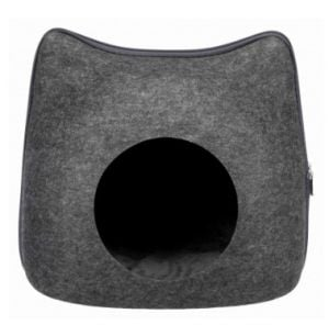 "Trixie Cuddly Cave ""Cat"" 38x35x37 cm (Anthracite)"