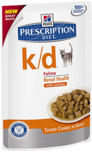 Hills Prescription Diet Feline k/d Salmon | Wet (Saqueta) 12 X 85 g