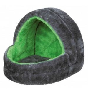 Trixie Cuddly Cave For Rabbits (Gray / Green)