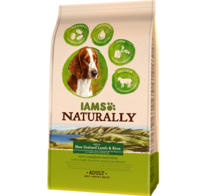 Iams Dog Naturally Adult Lamb