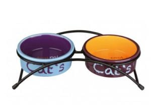 "Trixie Conjunto ""Eat-On-Feet"" P/ Gatos 2X0,3 Lt/Ø 12 cm"