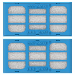 Pet Mate Replacement Filter Cartridges: Pet Fountain BI00335 y BI00340