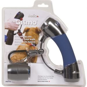 D.GS Gismo Handle With Poop Bag Dispenser Midnight Blue
