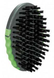 Trixie Groomer with Nylon Bristles with Ergonomic Grip