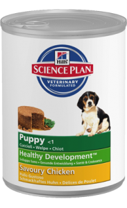 Hills Science Plan Puppy Chicken | Wet (Lata) 2 X 370 g
